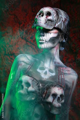 Zombie Body Art