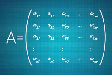 General form of a matrix