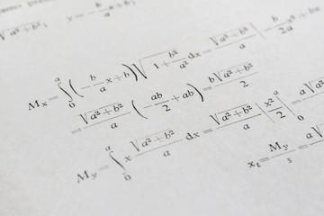 Advanced math example