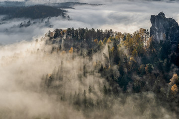 The Monk at the sea of fog - Der Mönch am Nebelmeer