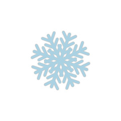 Snowflake icon sign