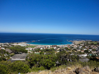 Camps Bay, Cape Town. South Africa