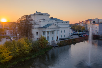 Theater of Wojciech Bogusławski in Kalisz, Poland.