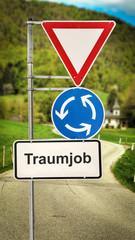Schild 364 - Traumjob