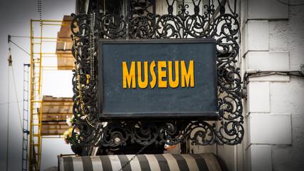Schild 347 - Museum