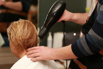 Blow Dryer Hair
