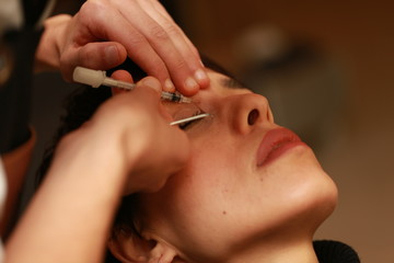 Botox acne cleaning