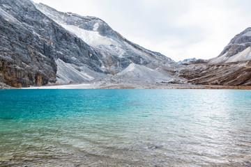 Milk lake, yading Nature Reserve, china