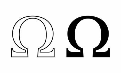 Ohm symbols illustration