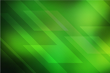 Abstract green background with lines Wall mural
