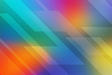 Colorful abstract background for card or banner with lines. illustration technology.