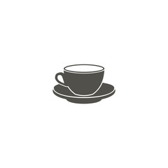 Coffee cup icon vector. Symbol for your web site design, logo, app, UI. Vector illustration, EPS