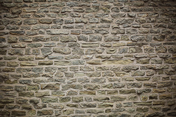 background brown grayscale shades of gray dark texture wall of blocks