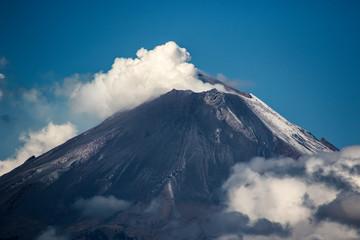 Fond de hotte en verre imprimé Volcan popocatépetl 2