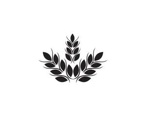wheat Logo Template vectors