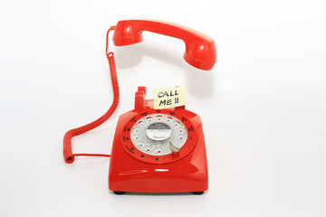 pick up the phone call when you receive memo
