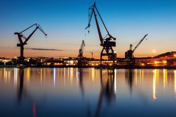 Cranes in Gothenburg