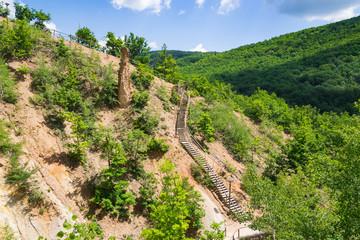 "Rock structure ""Djavolja Varos"" (Devil's town) near Kursumlija on south Serbia"