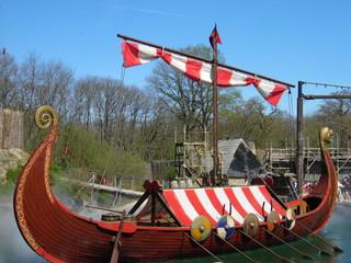 Bateau viking - Le drakkar