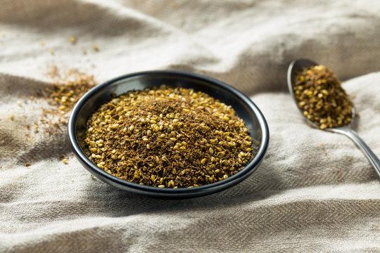 Raw Organic MIddle Eastern Zaatar Spices