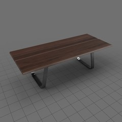 Modern dining table 3