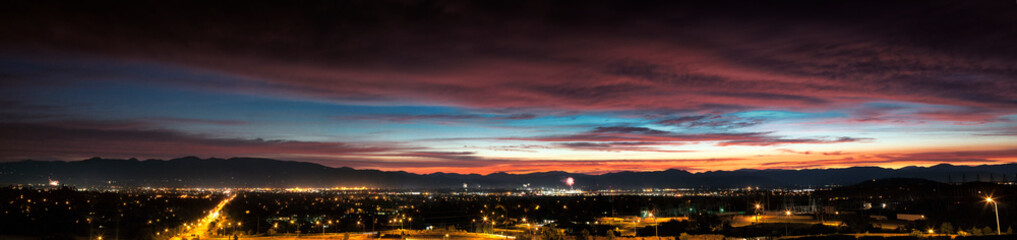 Medford - Southern Oregon Sunset - 4th of July