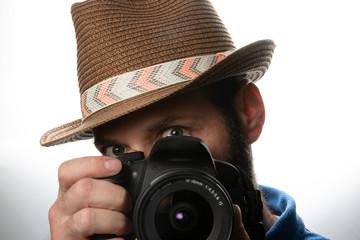 Piping Camera man