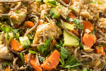 Healthy Homemade Soba Noodle Bowl