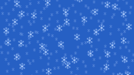 Christmas pattern with snowflakes.