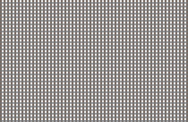 Gray and white gingham pattern teblechloth.Vector illustration