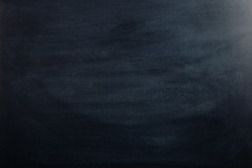 Black chalk board, blank for text or background for a school theme.