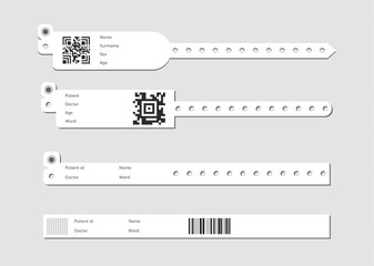 Wristband template set