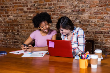 business women working with laptop