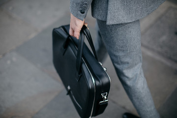 Corporate bag and suits