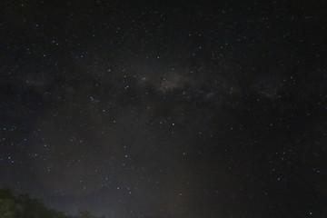 Milchstraße und Sternenhimmel bei Nacht