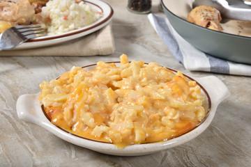 Potato chese casserole with chicken