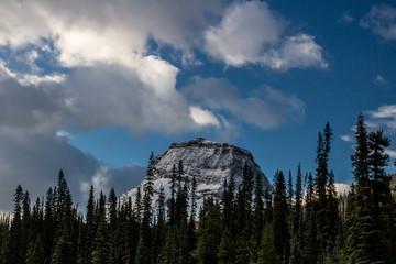Paget Peak from the Takakkaw Falls, Yoho National Park, British Columbia, Canada