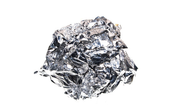 foil isolated on white background
