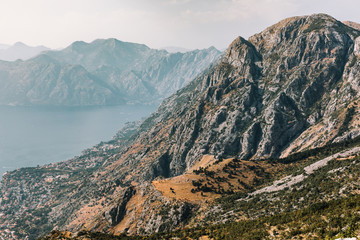 Beautiful coast of Montenegro