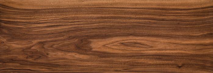 Obraz Super long walnut planks texture background.Walnut wood texture. - fototapety do salonu