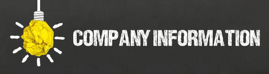 Company Information Wall mural