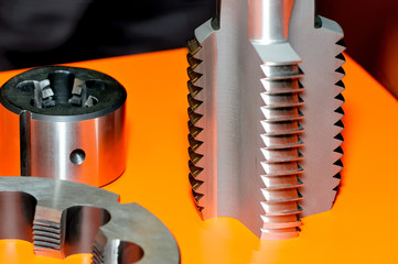 Threading tapping attachments of different shapes.