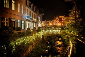 Weihnachtlich geschmücktes Bad Münstereifel