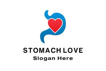STOMACH LOVE LOGO DESIGN