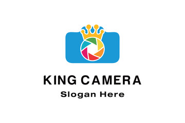 KING CAMERA LOGO DESIGN