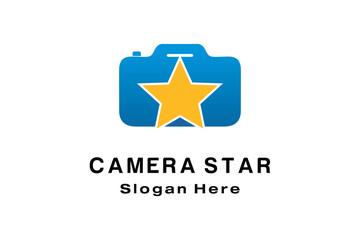 CAMERA STAR LOGO DESIGN