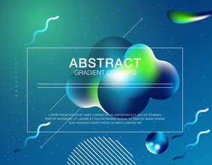 Dynamic 3D background with fluid shapes modern concept. minimal poster. ideal for banner, web, header, page, cover, billboard, brochure