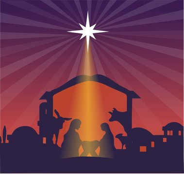 Christmas jesus in bethlehem