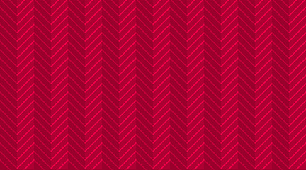 Deep red burgundy chevron zigzag seamless pattern with light festive lines. Halftone template wallpaper. Background for birth invite card. Herringbone vector sharp and jagged waves. Luxury modern VIP
