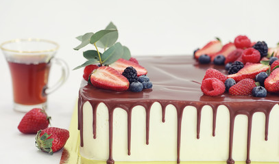 Confectionery flavored cakes for a holiday